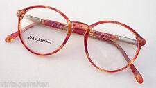 Red-Orange Marbled Pantobrille Flexbügel Solid Frame Frames SIZE S