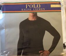 Authentic Polo Ralph LONG JOHNS One Long Sleeve Crew Size S