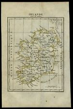 Ireland 1837 Tardieu Perrot miniature map