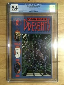 Dark Horse Presents #34 CGC 9.4 (NM) Off-White to White Pages - Early Aliens App