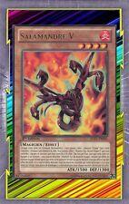 Salamandre V JOTL-FR002 Feu Magicien Effet Niveau 4 YGO