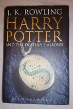 Adult First Edition Harry Potter And The Deathly Hallows J.K Rowling 2007