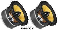 2 Stück Monacor HiFi Tief- Mitteltöner SPH-135KEP  8Ohm 80Wmax 89dB 133mm