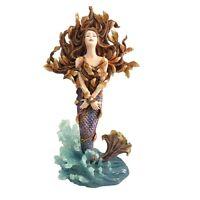 NIB, Sheila Wolk Mermaid Metamorphosis wall plaque figurine C/4