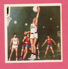Real Madrid Basketball Vintage 1964 Spanish Simon Chocolate Card