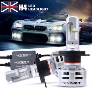 NOVSIGHT H4 9003 60W 10000LM Car LED Headlight Bulbs Hi/Lo Beam 6500K White Lamp