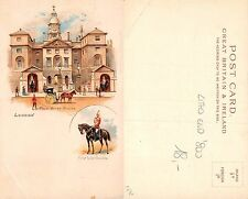 England - London - Royal Horse-Guards First Life-Guards LITHO END '800 (A-L 304)