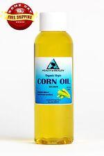 Corn / Maize Oil Organic Unrefined Cold Pressed by H&B Oils Center Pure 2 Oz