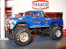 "1974 74 FORD F-250 ""BIG FOOT"" MONSTER TRUCK LIMITED EDITION GL 1/64 COOL PICKUP!"