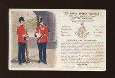 Sussex Corps & Regiments Collectable Postcards