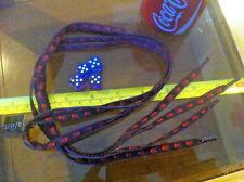 Red Black Skull & Crossbones Pirate Shoelaces Lases Laces Flirt New Shoe