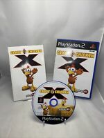Crazy Chicken X Sony PlayStation 2 PS2 Game - Complete With Manual Free P&p