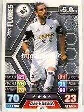 Match Attax 2013/14 Premier League - #294 Chico Flores - West Bromwich