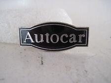 19?? vintage Autocar Truck cloisonne emblem (s032)