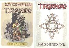 DRAGONERO - Mappa dell' ERONDAR Sergio Bonelli Editore