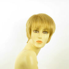 Perruque femme courte blond doré LOUISE 24B