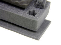 New 3 pc cubed Pluck replacement foam Kit fits Seahorse SE SX 300 Case
