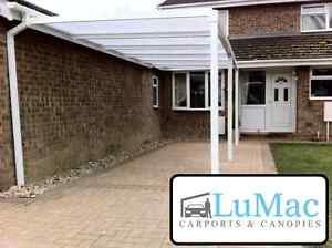 carport motorcycle car bike canopie cover patio decking canopy shelter awning