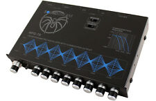 SOUNDSTREAM MPQ-7B 1/2-DIN 7-BAND GRAPHIC EQUALIZER SUBWOOFER LEVEL CONTROL EQ
