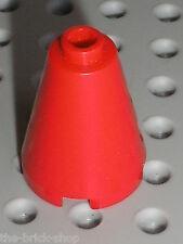 Cone rouge LEGO Red Cone ref 3942c / set 7739 3178 10159 6751 ...