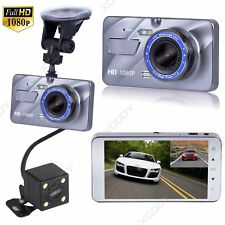 Dual Lens Car DVR HD 1080P Dash Cam Video Recorder Camera Night Vision G-sensor