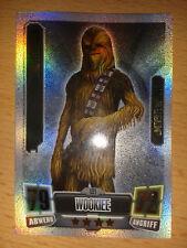 Force Attax Star Wars Serie 2 Limitierte Auflage LE1 Chewbacca Sammelkarte