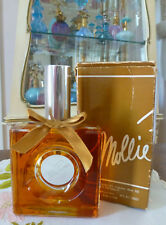 VTG 1970s NIB MOLLIE PARNIS by Mollie Parnis EDP Huge 4 Oz 118ml Natural Spray