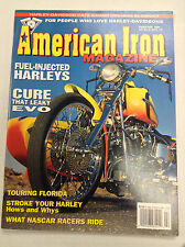 American Iron Magazine Fuel Injected Harleys & Evo February 1994 031017NONRH