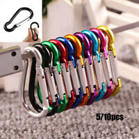 Equipment Alloy Carabiner Climbing Buckles Camping Hiking Hook Buckle Keychain