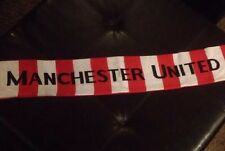 NWOT Manchester United Scarf Reversable Red White And Yellow