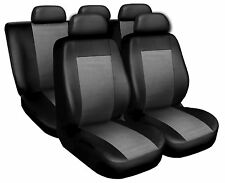Coprisedili Copri Sedili Salva Sedili Eco Pelle Per Audi A3 grigio