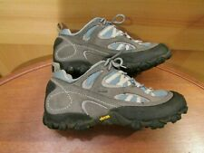 PATAGONIA Performance Footwear Blue Gray Lace-Up Hiking Shoes Women's Size 9.5