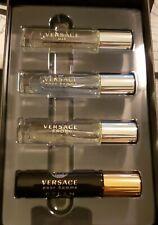 Versace Deluxe Sample Set Of 4 Eau De Toilette  For Men 0.17oz./5ml. Brand New