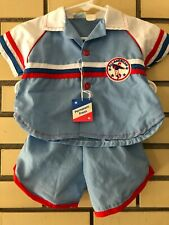 Vintage 70's Cradle Togs Infant Two Piece Outfit Boys All American Football NOS