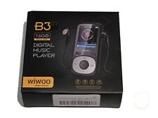 Wiwoo B3 MP3 Player Fm Radio Portable Music Player 16GB New