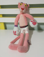 PINK PANTHER PLUSH TOY BOXER CHARACTER TOY 30CM HUNTER LEISURE