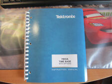 NEW NOS Tektronix 7B50A Instruction Manual with Diagrams. WORLDWIDE SHIPPING.