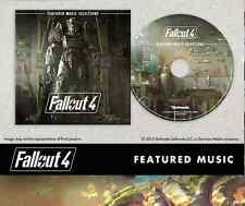 Genuine Fallout 4 Featured Music Selections CD *NEW*! + Warranty!!!