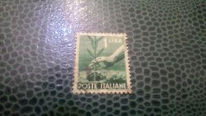 Francobolli POSTE ITALIANE  1 Lira   2 Lire  15 Lire