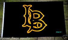 CSULB Flag Banner 3x5 ft California State University Long Beach 49ers Black