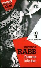 Livre de poche  policier l'homme intérieur Jonathan Rabb   book