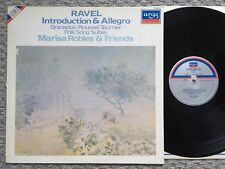 Ravel - Introduction & Allegro +more - Marisa Robles - Argo stereo LP ZRDL 1008