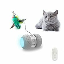 [Upgraded Version] Boltz Robotic Cat Toy Interactive,Attached with