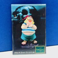 Walt disney pinback button pin badge vintage WDCC Peter Pan Smee sculpture 1994