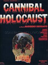 ROBERT KERMAN RUGGERO DOEDATO CANNIBAL HOLOCAUST 1980 RARE SYNOPSIS