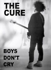 (LAMINATED) THE CURE BOYS DON'T CRY POSTER (59x86cm)  PICTURE PRINT NEW ART