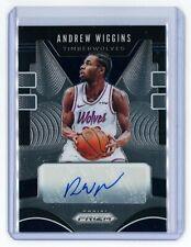 Andrew Wiggins 2019-20 Panini Prizm Basketball Signatures Autograph Auto