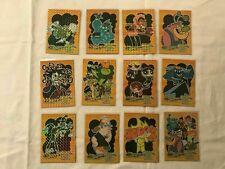 2001 Artbox Powerpuff Girls Series 2 Foil Enhanced Villains Chase Card Set of 12