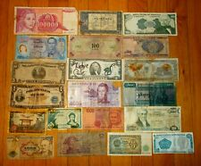 Job lot 38 pcs banknotes from various countries 🎇 Collections & lots