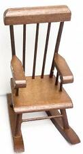 Miniature Rocking Chair, Made of Wood